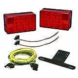 Wesbar Waterproof Low Profile 4x6 LED Trailer Light Kit