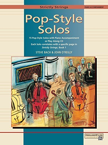 (Strictly Strings Pop-Style Solos: Piano Acc./Conductor's Score (1997-07-01))