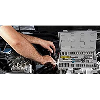 Socket 40 Pcs Combination Socket Toolkit (Set of 40) | Tookkit | Repair Tools | Industrial Tools | 13
