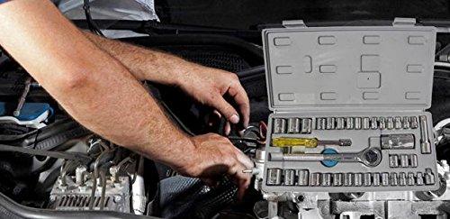 Socket 40 Pcs Combination Socket Toolkit (Set of 40) | Tookkit | Repair Tools | Industrial Tools | 6