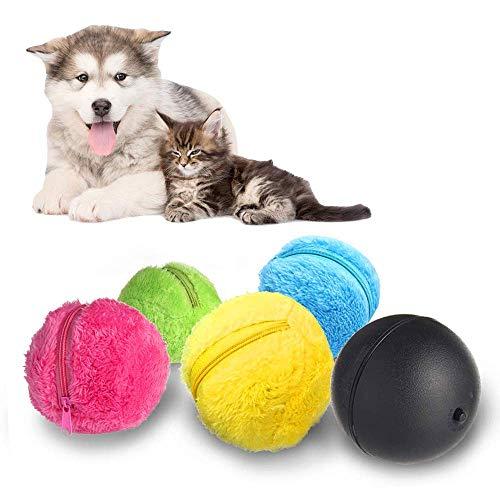 Kakeyi Automatischer Rollender Ball Elektrische Spielzeug Ball für Hund, Mini Roboterreiniger Hunde Intelligenz…