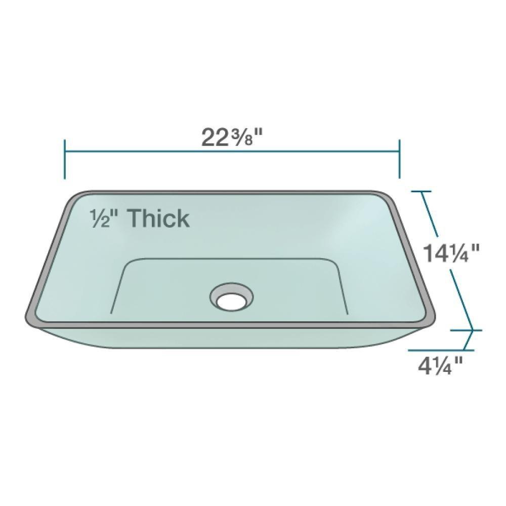 640 Emerald Chrome Bathroom 721 Vessel Faucet Ensemble (Bundle - 3 ...