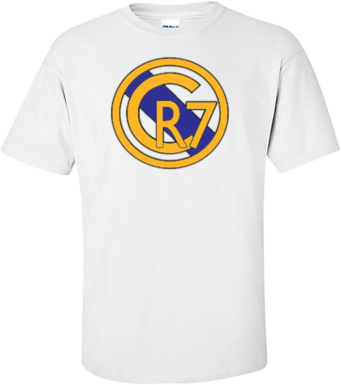 The Silo White Cristiano Ronaldo Real Madrid CR7 T-Shirt