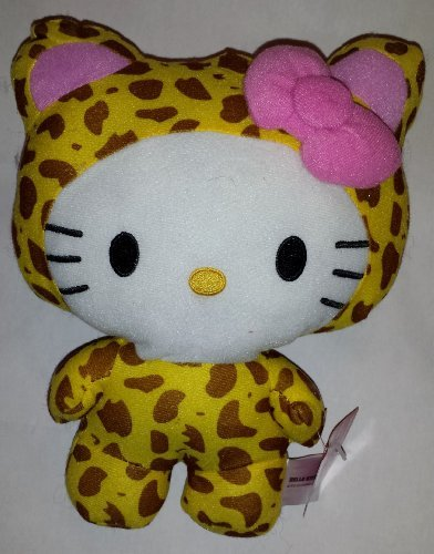 Large 10 Inch Leopard Hello Kitty Big Top Circus Animal Plush Doll by Hello Kitty