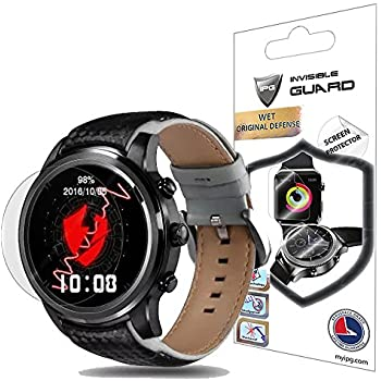 For LEMFO LEM5 SmartWatch Screen Protector (2 Units) Invisible Ultra HD Clear Film Anti Scratch Skin Guard - Smooth / Self-Healing / Bubble -Free By IPG
