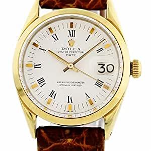 Rolex Date automatic-self-wind mens Watch 1550 (Certified Pre-owned)