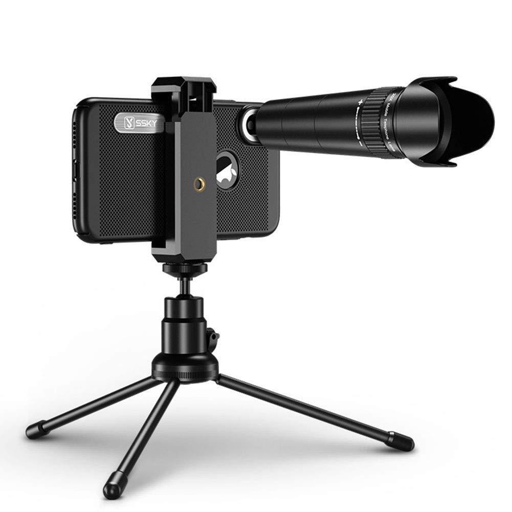 Meiyiu HD 20x Zoom Mobile Phone Telescope Lens Telephoto External Smartphone Camera Lenses Telescope Lens + Tripod (Universal Clip) by Meiyiu