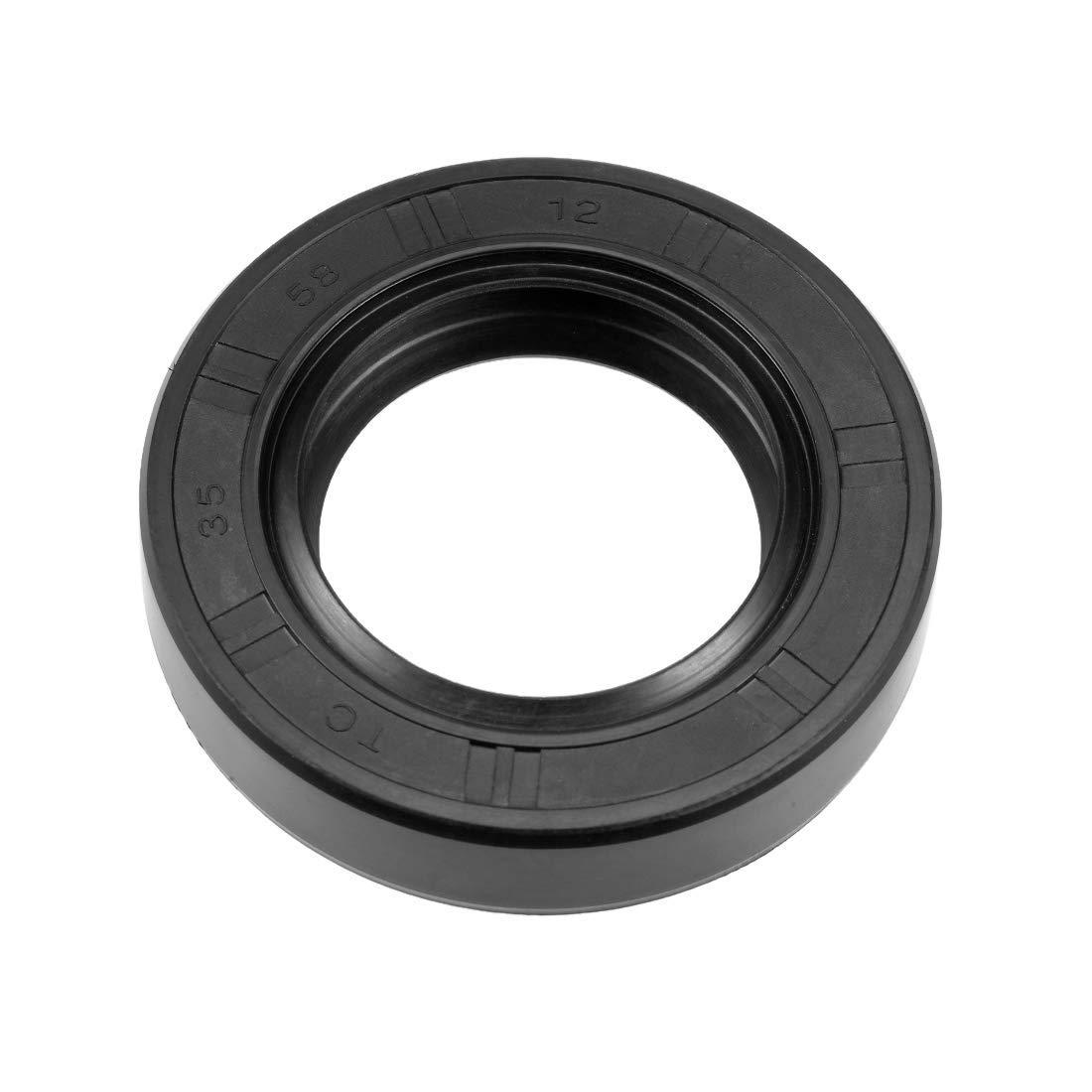 Oil Seal Double Lip Nitrile Rubber Cover TC 35 mm x 58 mm x 12 mm