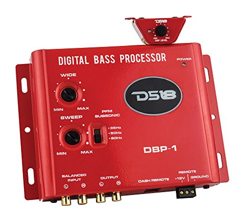 DS18 DBP-1 Digital Bass Reconstruction Processor - Enhance The Lower Frequencies On All types of Music and Reproduction Formats ()