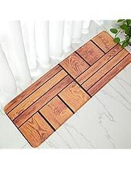 Wonderful BHoming(TM) Non Slip Kitchen Mat Doormat Bath Mat,Soft Memory Foam Runner  Rug Pad For Living Room Bedroom,Indoor/Outdoor Floor Mat Home Decor 16 X 47  Inch, ...