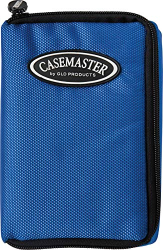 (Casemaster Select Nylon Steel and Soft Tip Dart and Accessory Case, Holds 3 Darts, Foam Cushion Allows Flights to be Stored Open Without Being Crushed)