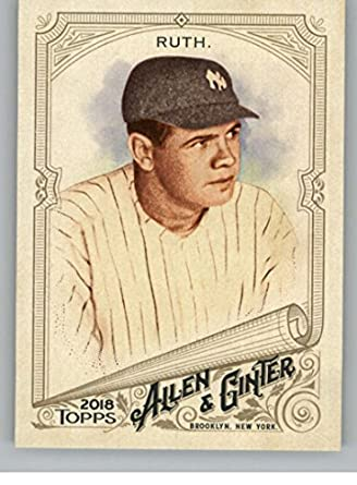 Amazoncom 2018 Allen And Ginter 3 Babe Ruth New York