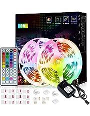 LED remsor, Romwish RGB SMD 5050 Bluetooth musik synk LED ränder, för hem, kök, fest, TV, dekoration
