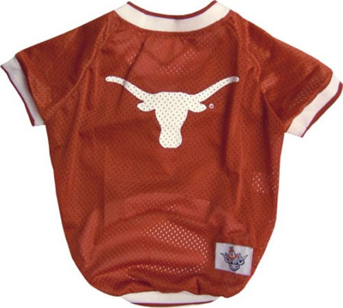 NCAA Dog Jersey, Large, University of Texas Longhorns
