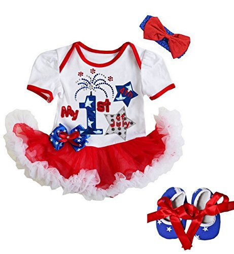 infant 4th of july dress - 8