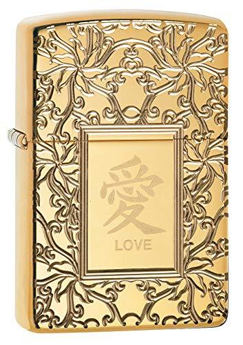 - Zippo Chinese Love Pocket Lighter