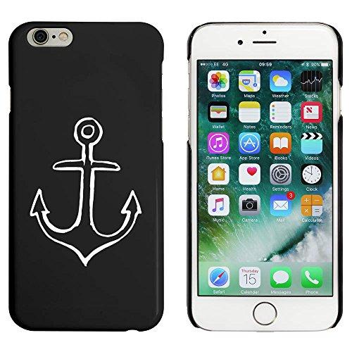 Schwarz 'Schiff Anker' Hülle für iPhone 6 u. 6s (MC00039441)
