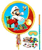 BirthdayExpress Super Mario Party Supplies - Pinata Kit