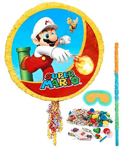 BirthdayExpress Super Mario Party Supplies - Pinata Kit by BirthdayExpress