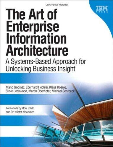 Read Online Art of Enterprise Information Architecture by Godinez, Mario, Hechler, Eberhard, Koenig, Klaus, Lockwood, [Paperback] pdf epub
