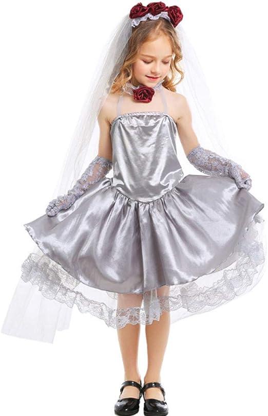 Disfraz De Novia Fantasma, Disfraz De Novia Para Niños Vestido De ...