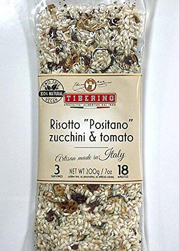 Tiberino's Real Italian Meals - Risotto ''Positano'' Zucchini & tomato by Tiberino