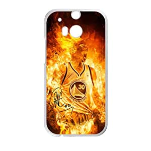 Happy stephen curry Phone Case for HTC One M8