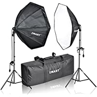 Emart 1250W Photography Continuous Softbox Lighting Kit, Photo Video Studio 31 x 31 inch Octagon Soft Box