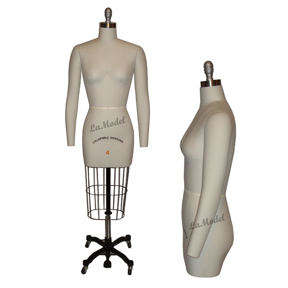 Amazon.com: Professional Dress Form Collapsible Shoulders and Two ...