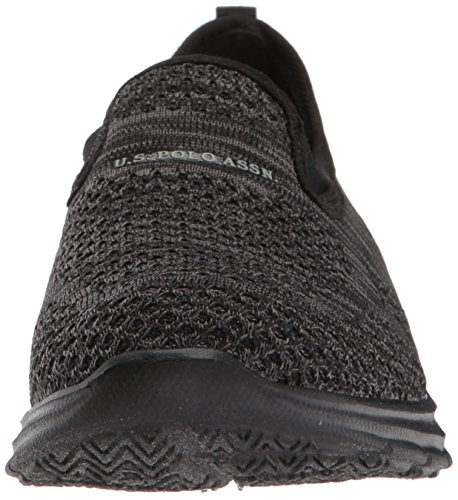Assn Women's Oxford Flat Grey S U Black Malory Polo K Black Dark tw7q7EBH
