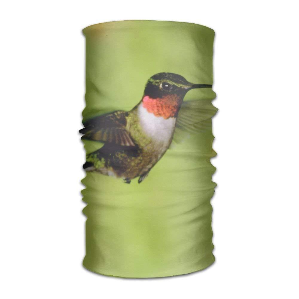Flower Hummingbird Unisex Fashion Quick-drying Microfiber Headdress Outdoor Magic Scarf Neck Neck Scarf Hooded Scarf Super Soft Handle