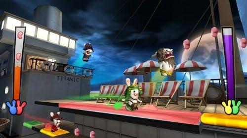Ubisoft Raving Rabbids: Travel in Time, Wii Nintendo Wii Inglés vídeo - Juego (Wii, Nintendo Wii, Aventura, Modo multijugador, E10 + (Everyone 10 +)): Amazon.es: Videojuegos