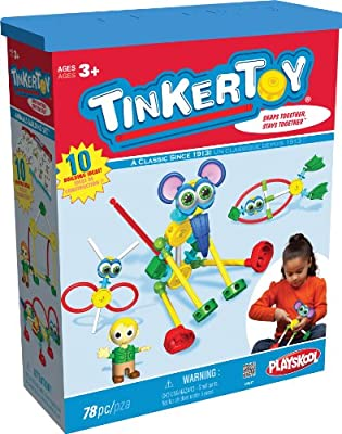 Tinker Toy Animals Building Set from Tinker Toy
