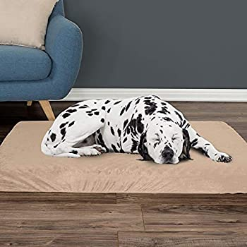 Amazon.com : PETMAKER Memory Foam Dog Bed with Removable