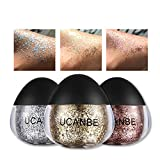Best UCANBE Glitter Eyeshadows - 1 PC Stage Glitter Powder Cream for Eyeshadow Review