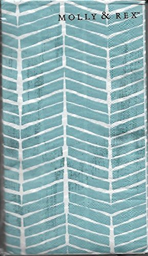 Molly & Rex Guest Towels Coastal Wood 32 Count Pack