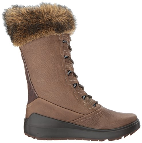 Pictures of ECCO Women's Noyce Tall Snow Boot 834603 Birch/Coffee 3
