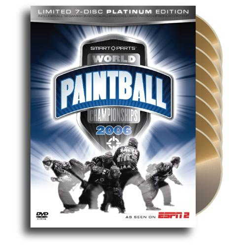 Smart Parts World Paintball Championships 2006: Limited 7-Disc Platinum - Part Paintball