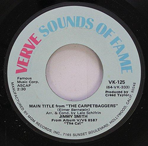 VERVE SOUNDS OF FAME 45 RPM THE CARPETBAGGERS / DELON''S BLUES