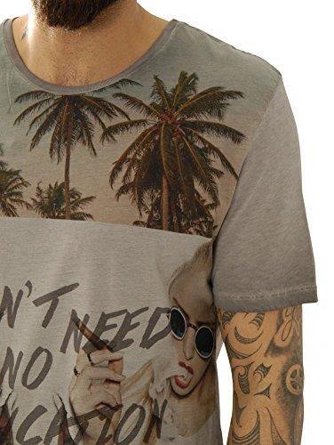 Kultivate Shirts T-Shirts Ts Education - Grey Usp 1601020258-22