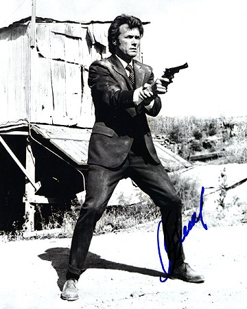 CLINT EASTWOOD (Dirty Harry) 8x10 Male Celebrity Photo Signed In-Person from Iconographs