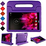 TIRIN LG G Pad 7.0 Kids Case – Light Weight Shock Proof Convertible Handle Stand Kids Case Cover for LG G Pad V400/V410 (LTE)/VK410/UK410/LK430 (G Pad F7.0) 7 Inch,Purple