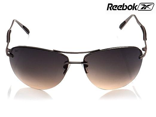 253940535dc0 Reebok Stylish Cool Aviator Black Sunglass MRP 4999 -  Amazon.in ...