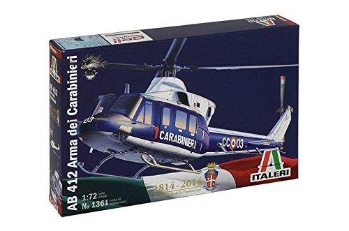Italeri Models AB 412 Arma Dei Carabinieri Helicopter Model Building Kits