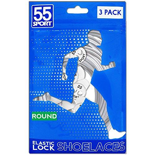 55Sport cintas reflectante altamente elásticas Weiß (3er Pack)