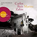 Marina Audiobook by Carlos Ruiz Zafón Narrated by Andreas Pietschmann