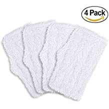 4 Pack Washable Cleaning Pads for Shark Steam & Spray Mop SK410, SK460, SK115, SK140, SK141, SK435CO, S3101, S3102, S3250, S3251, Aunifun