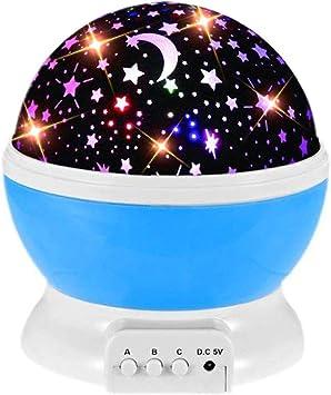 Amazon.com: GZCY - Proyector de estrellas de rotación de 360 ...