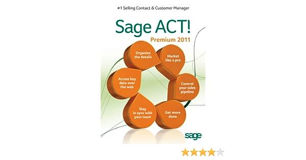Sage Act Premium 2011 License