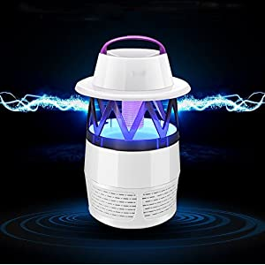 FLhY Mosquito Lamp Electric Mosquito Light Killer USB Led Mosquito Catcher Fly Killer Bug Zapper Insect Trap Backyard Garden Indoor